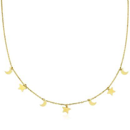 collar-estrellas-lunas-oro-cadiz-gargantilla