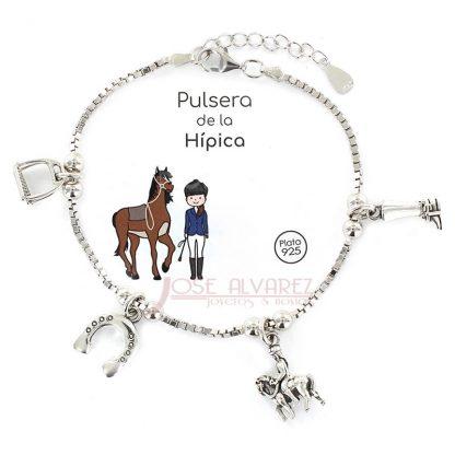 pulsera hípica-caballos-jerez