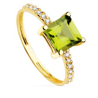 sortija-oro-piedras-cadiz-circonitas Peridoto-verde