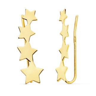 pendientes-oro-trepadores-estrella