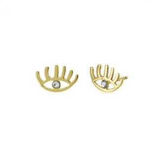 pendientes-plata-areca-ojo-dorado-cadiz